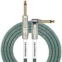KIRLIN Cable de instrumento de ángulo recto a recto, Ol, 10 feet