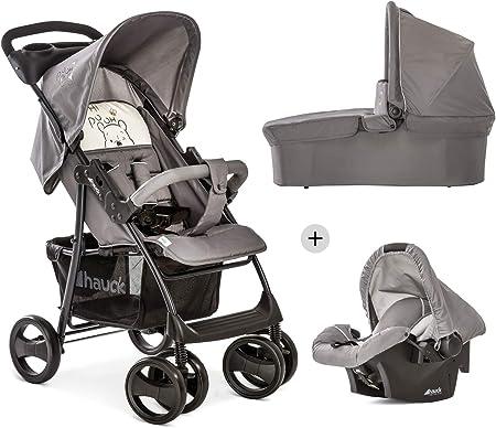Carro 3 en 1 apto desde el nacimiento del bebe; carro de 3 piezas, silla de auto de 0 meses a 13 kg,