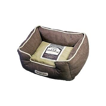 Karlie Flamingo cama para perros touchdog rectangular marrón para perros 60,0 cm x 50 cm x 23,0 cm: Amazon.es: Productos para mascotas