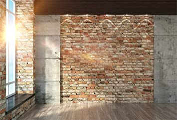 YEELE 9x7ft Room Interior Backdrop Interior Big Side Window with Wooden Floor Photography Background Home and House Design Modern Villa Video Recording Decoration Photoshoot Props Digital Wallpaper