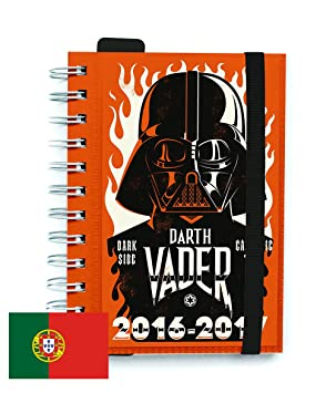 Agenda Escolar Dia Pagina 2016/2017 Star Wars (PT): Amazon ...
