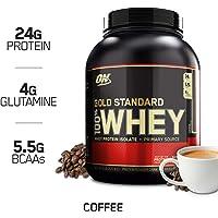 Optimum Nutrition 欧普特蒙 金标乳清蛋白营养粉 咖啡味 5磅(2.27千克)