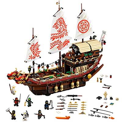 LEGO Ninjago Movie Destiny's Bounty 70618 (2295 Piece): Toys & Games