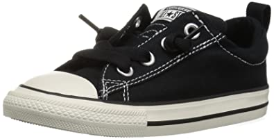 9475380cdde9 Converse Boys  Chuck Taylor All Star Street Canvas Slip On Low Top Sneaker  black