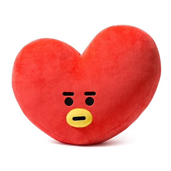 Bt21 Tata Cushion 16.5 Inches Red by Bt21