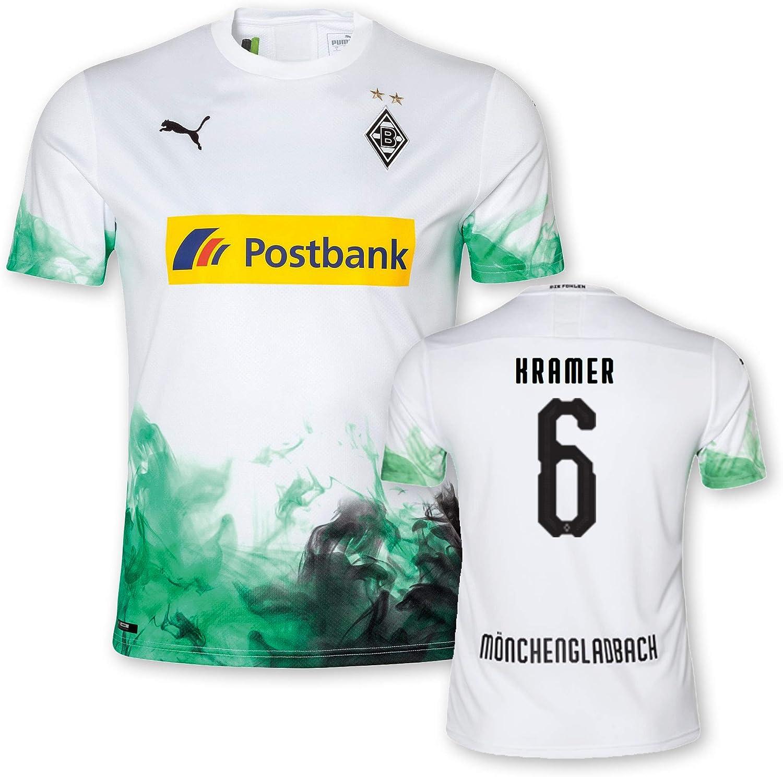 PUMA 2019/20 - Camiseta de Portero Infantil, diseño del Borussia Mönchengladbach, 6 Kramer, 128: Amazon.es: Deportes y aire libre
