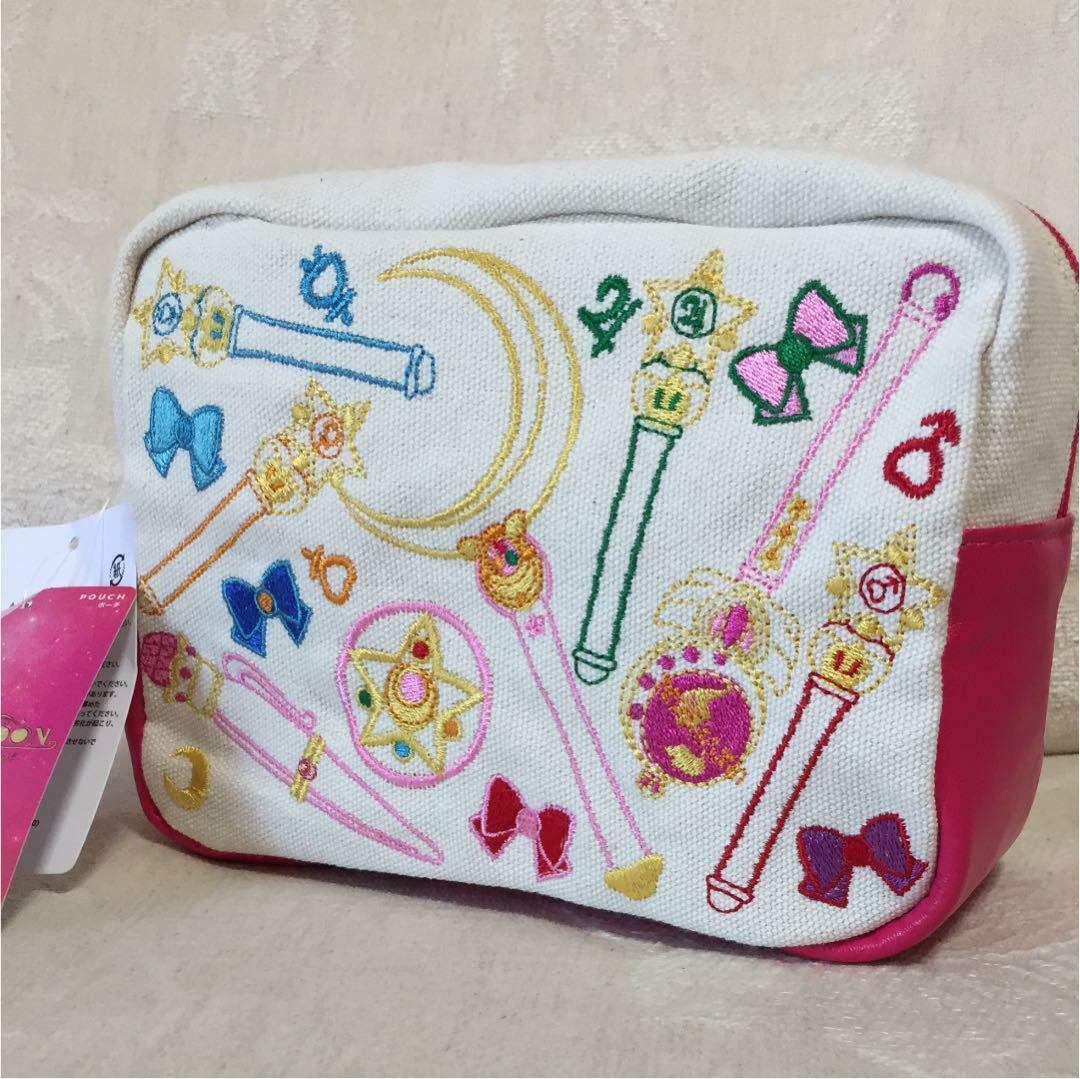 SailorMoon/SailorMooncrystal/Pouch/セーラームーン/セーラームーンクリスタル/ポーチ/2018 Sailor Moon USJ Pouch Universal Studio Japan Limited New F/S B07Q1G7MQD