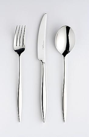 eternum, diseño cubiertos, Adagio 2090 C127, acero inoxidable 18/10, Pulido, diseño minimalista., set 127 piezas): Amazon.es: Hogar