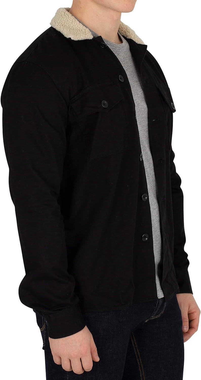 Black Jack /& Jones Mens Nolan Fur Overshirt