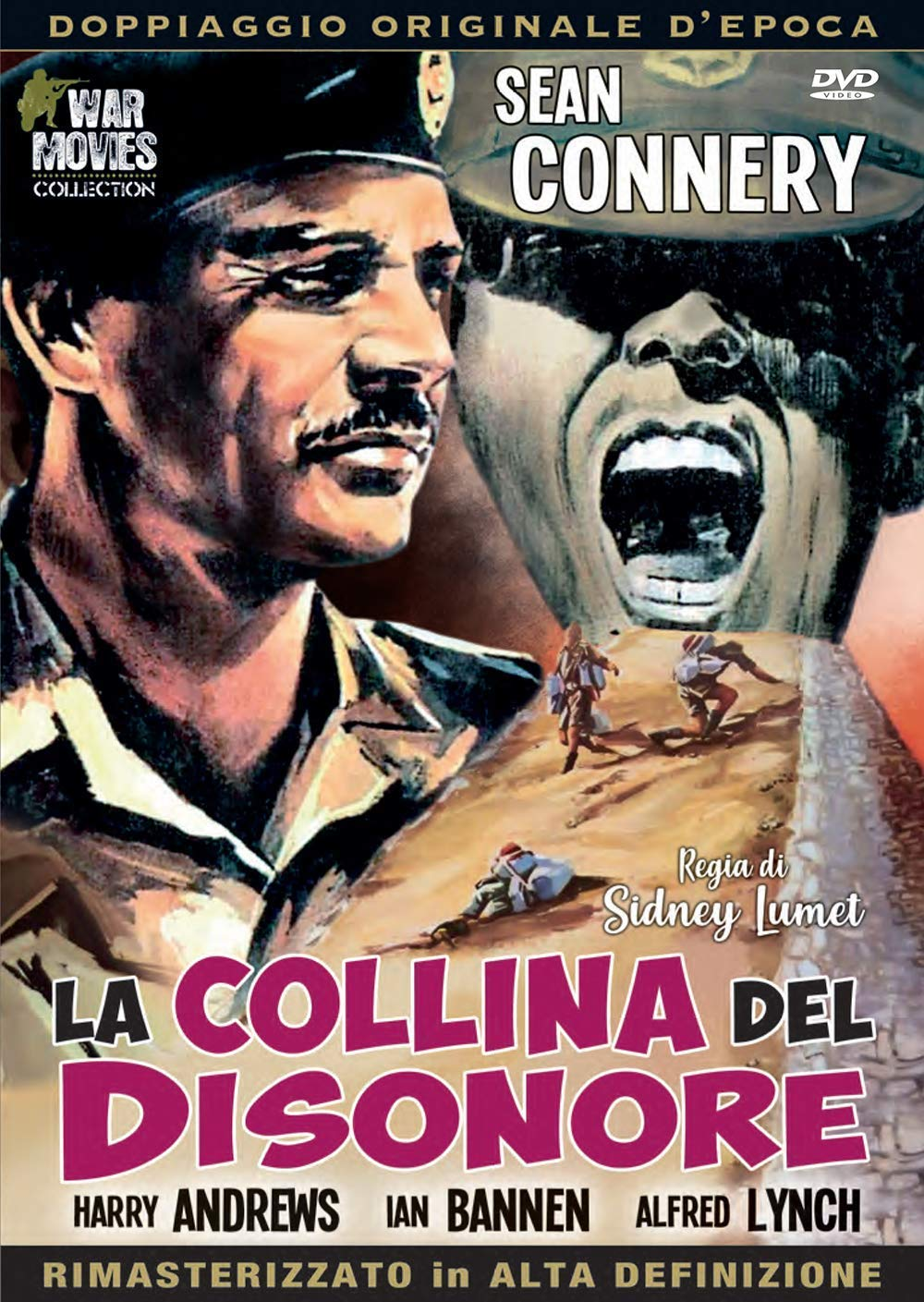 La Collina Del Disonore 1956 Amazon It Connery Andrews Bannen Connery Andrews Bannen Film E Tv
