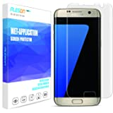 Galaxy S7 Edge Screen Protector, PLESON [Full Coverage][Case Friendly][Bubble-Free][Anti-Scratch][No Lifted Edges] Wet Applied HD Clear Film Screen Protector for Samsung Galaxy S7 Edge