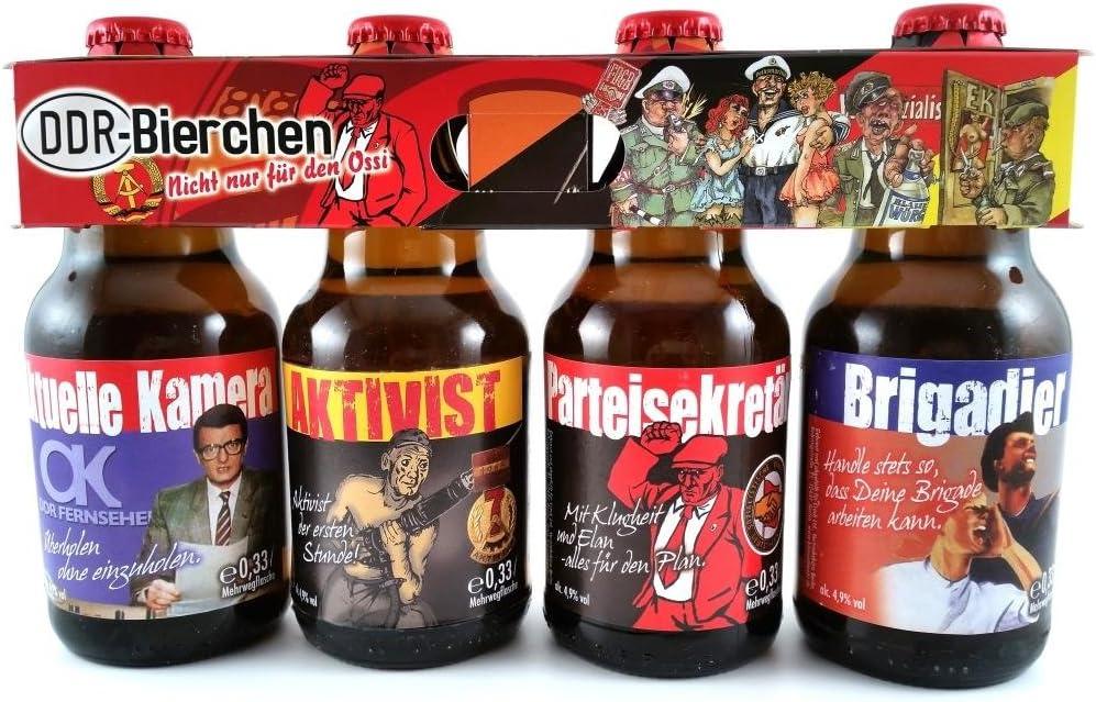 DDR Bier im Ostalgie 4er Tr�ger