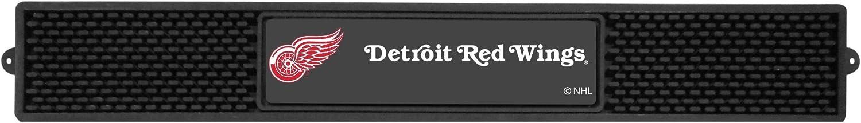 FANMATS NHL Detroit Red Wings Vinyl Drink Mat , 3.25