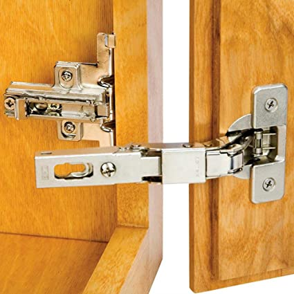 Salice Hinge And Plate For 38 In Lipped Face Frame Doors Cabinet