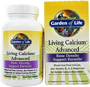 Garden of Life Living Calcium Advanced, 120 Vegetarian Caplets