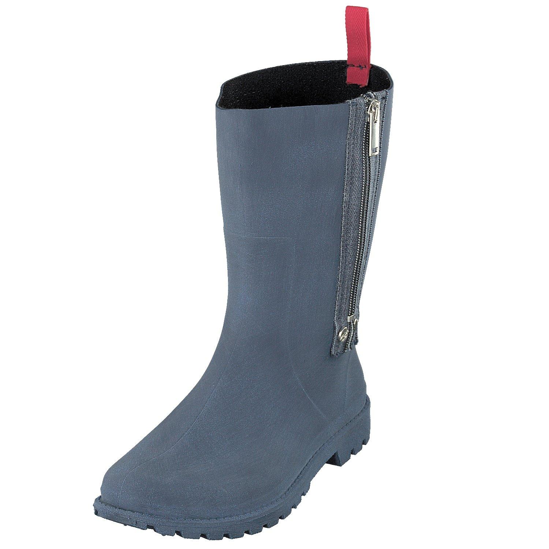 GOSCH schuhe Damen Schuhe Stiefel Gummistiefel Reißverschluss 7108-340 in 3 Farben  | Verschiedene aktuelle Designs