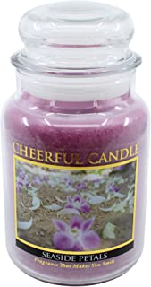 product image for A Cheerful Giver Light Purple Seaside Petals 24 Oz Jar Candle, Multi