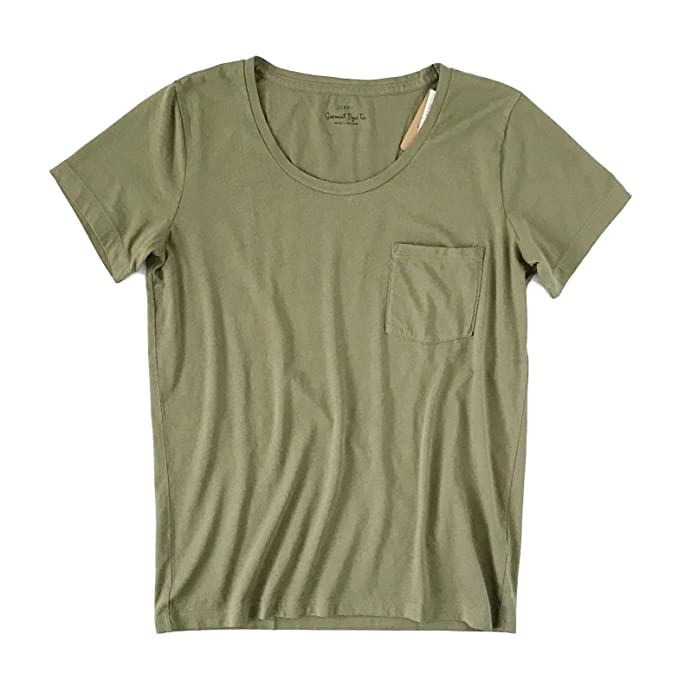 e2a36d6043851 J. Crew Factory Women s - Short Sleeve Pocket Tee  Amazon.ca ...