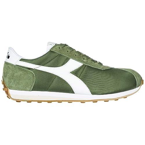 b6a56202465f09 Diadora Men Sneakers Green Olivine 8 UK: Amazon.co.uk: Shoes & Bags