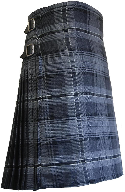 boys hamilton grey tartan scottish highland kilt amazon co uk