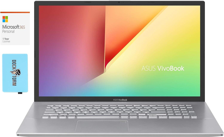ASUS VivoBook S712JA Home and Business Laptop (Intel i5-1035G1 4-Core, 16GB RAM, 512GB SSD, Intel UHD Graphics, 17.3