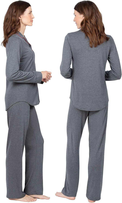 Addison Meadow Knit Womens Pajamas PJs for Women Set