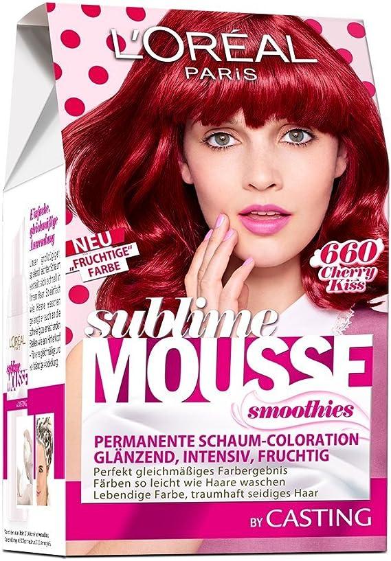 L Oréal Paris Sublime Mousse Smoothie 660 Cherry Kiss