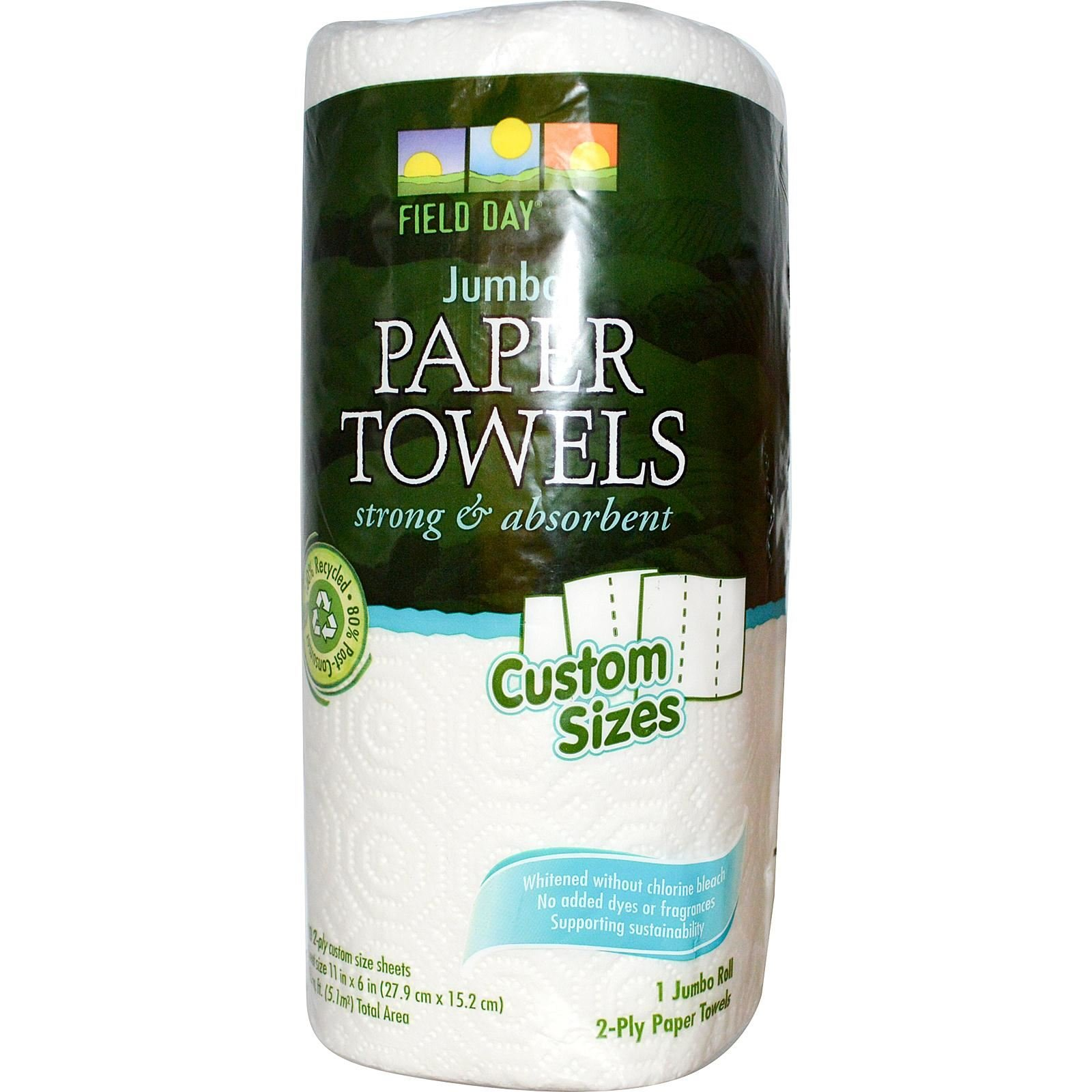Field Day Paper Towel, 120 Count