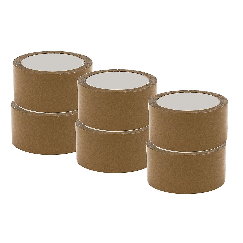 ref UGRANH100-36 40/% de plus que les 66 m/ètres long 36 Rouleaux ruban adh/ésif emballage Marron havane pp silencieux Rouleau de 48 mm x 100 m/ètres