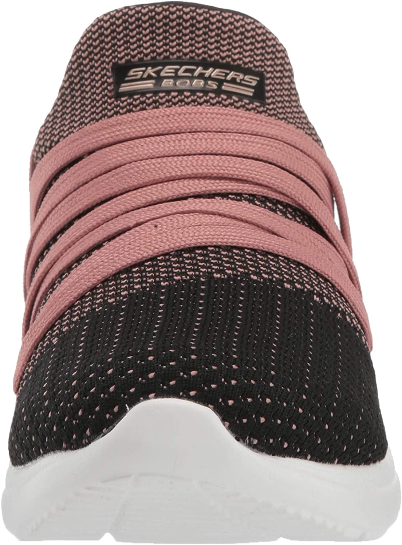 Skechers BOBS de Bobs Sparrow féminin - Sneaker Club Noir Rose