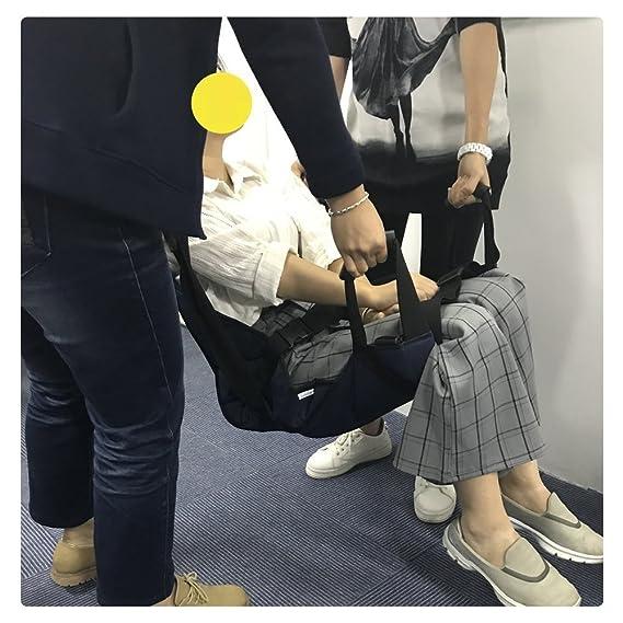 Anciano Paciente Elevador Escalera Tabla Deslizante Transferencia Silla De Evacuación De Emergencia Cinturón De Silla Ruedas Seguridad Cuerpo Eslinga De ...