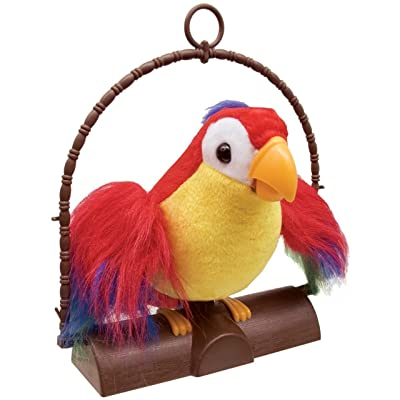 Pete the Repeat Parrot: Toys & Games