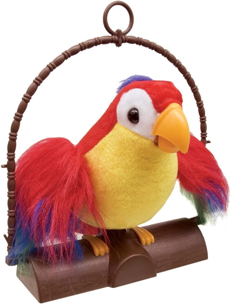 Talking Toy Stuffed Amimal Bird Musical Parrot Plush Toy for Kids Children