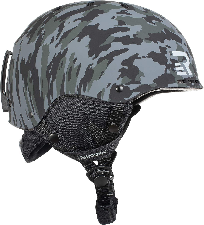 Retrospec H2 Ski & Snowboard Helmet
