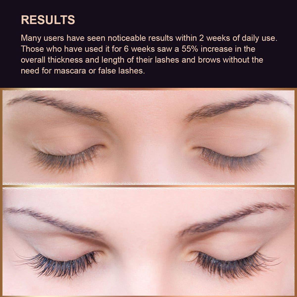 Silksence Eyelash Growth Serum for Lash and Brow Irritation Free Formula 5ML