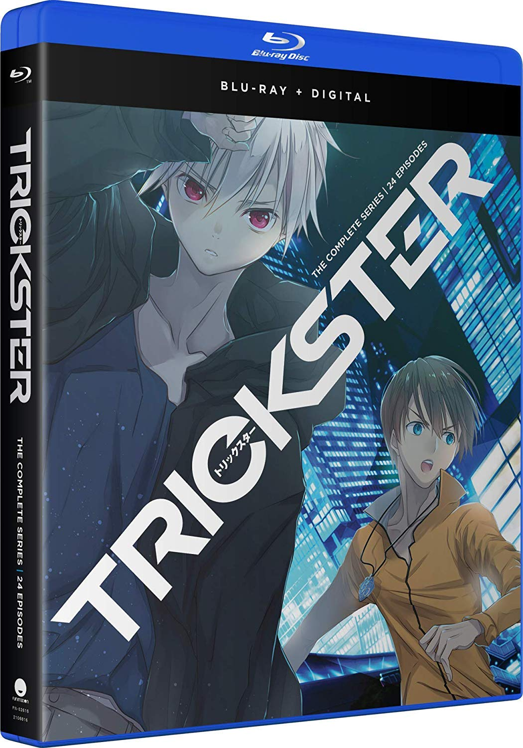 Blu-ray : Trickster: The Complete Series (Boxed Set, Digital Copy)