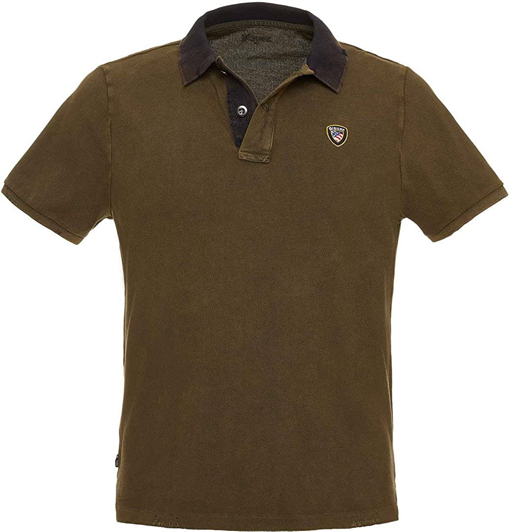 Polo for men BLAUER BLUT020005 674: Amazon.es: Ropa y accesorios