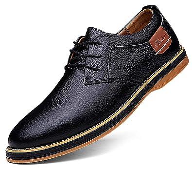 TSIODFO - Zapatos de Vestir para Hombre, Piel de Vaca, Color ...