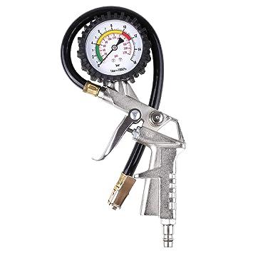 FIXKIT Indicadores de Aire para Ruedas Manómetro de Presión para Neumáticos Indicador de Presión de Neumáticos Medidor de Presión de Neumáticos: Amazon.es: ...