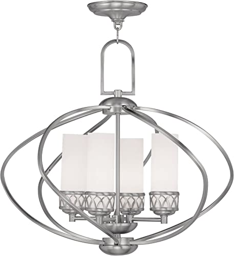 Livex Lighting 4724-91 Westfield 4-Light Chandelier