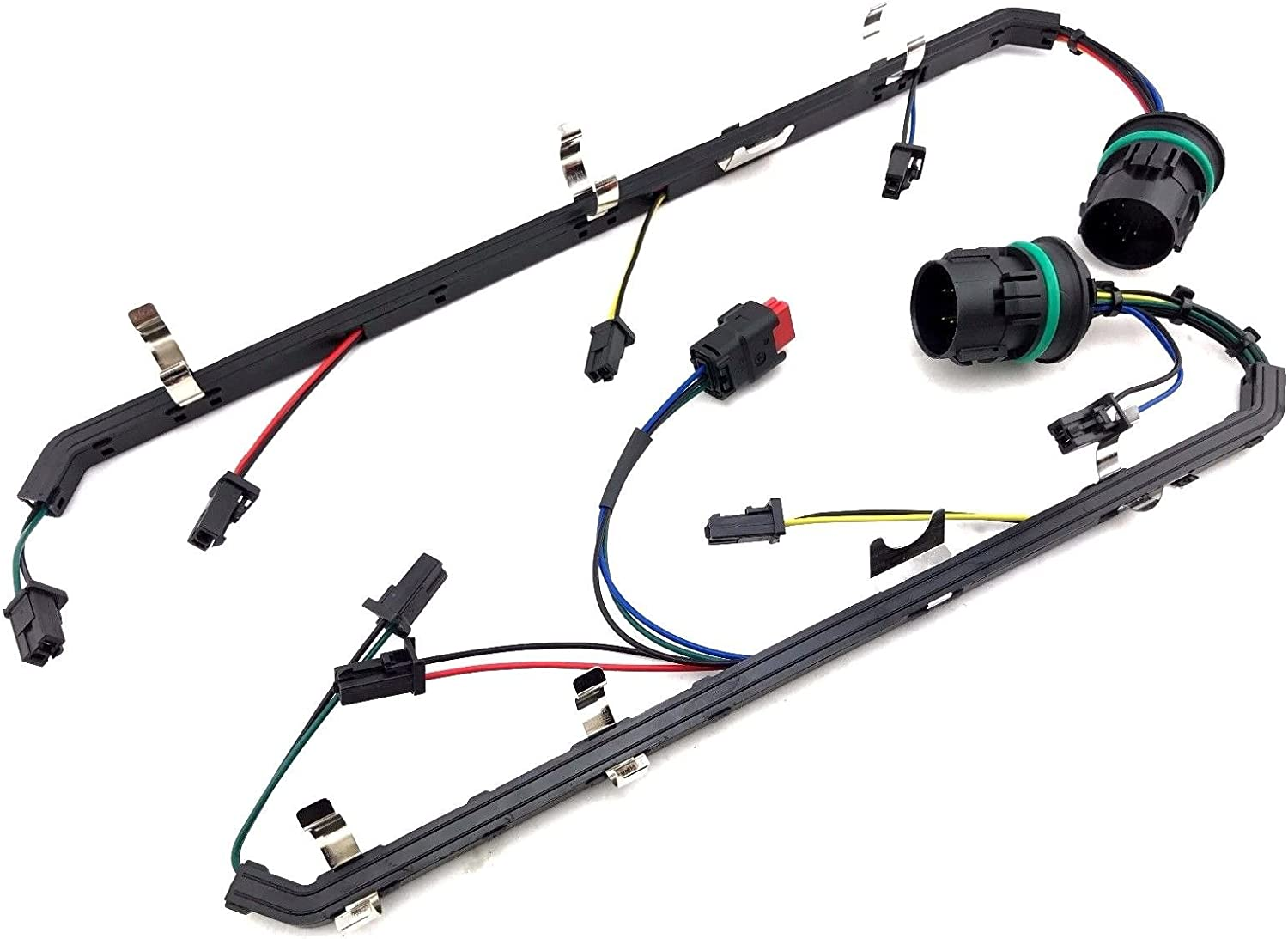 Right /& Left 8C3Z-12A690-BA 8C3Z-12A690-AA 6.4 Glow Plug Harness Kit for Ford F-250 F-350 F-450 F-550 Super Duty V8 6.4L Powerstroke Diesel Engine 2008-2010