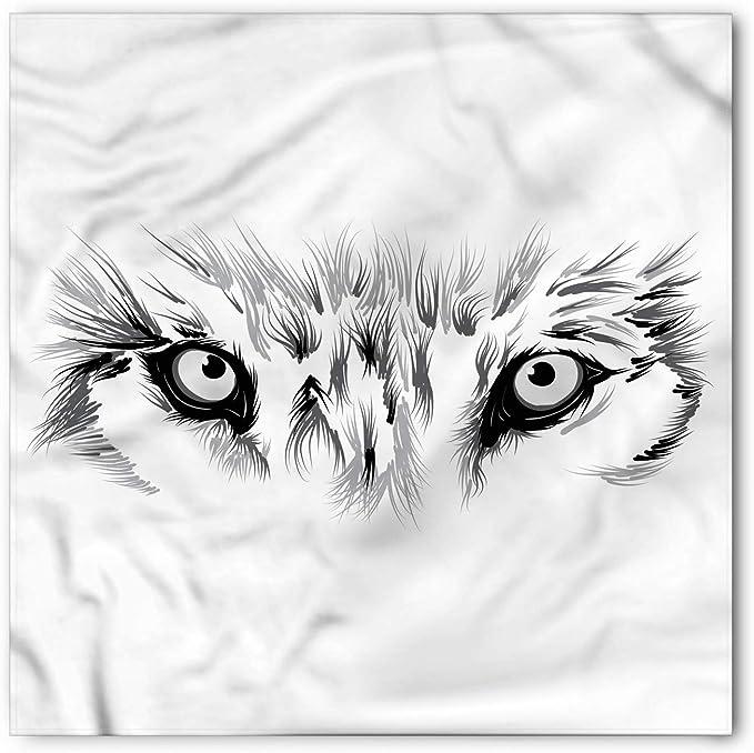 Soefipok Bandana facial, boceto temático del ojo del lobo ...