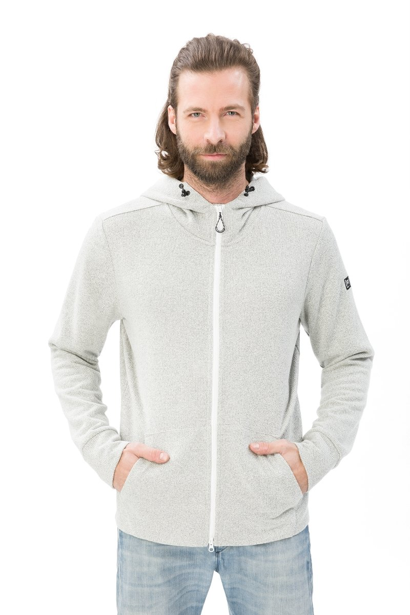 Super.natural Herren M Vacation Knit Zip Merino Pullover