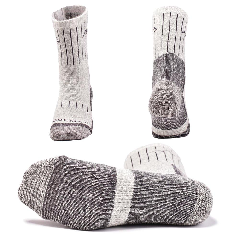 SUDILO Crew Cushion Hiking Trekking Socks,Coolmax Multi Performance Antiskid Wicking Outdoor Athletic Socks by SUDILO (Image #4)