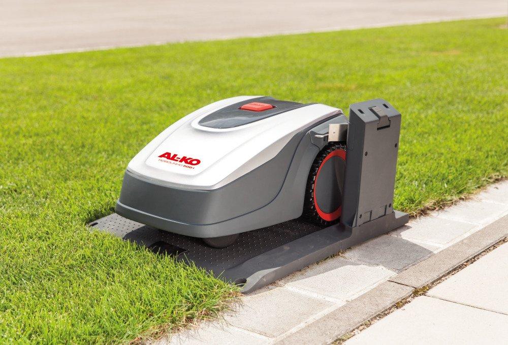 AL-KO 119833 Robot cortacésped Robolinho E, 20 V/2.25 Ah Li-Ion ...