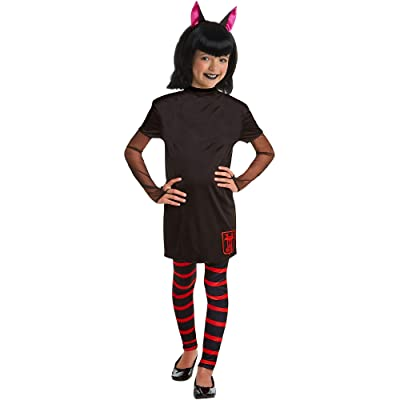 Hotel Transylvania Mavis Halloween Costume for Girls, Medium, with Included Accessories, by AFG Media: Clothing