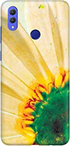 Stylizedd Huawei Honor 8X Max Slim Snap Basic Case Cover Matte Finish - Bloomin Sunflower