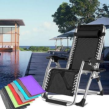 Zuionk - Silla Plegable Ajustable para Oficina, sillón de ...