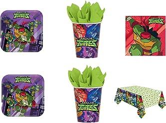 Cdc-Barrera n ° 4 tartas y party tortugas Ninja-(16 unidades ...