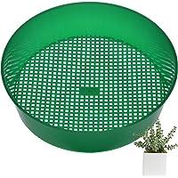 tuinzeef plastic gaas tuinzeef voor aarde Groene plastic potzeef Tuinzeef Mesh tuingereedschap Voor tuinplanten…